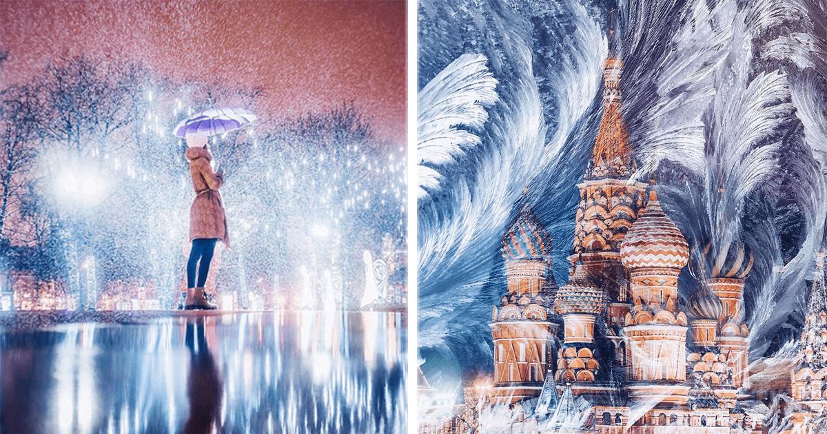 La gran belleza que es Moscú durante el invierno en 12 imágenes.