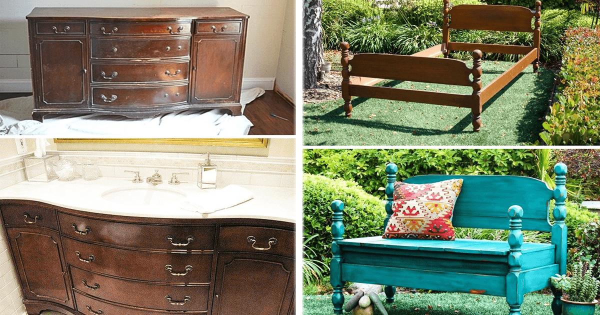 11 ideas que te ayudar n a renovar tus viejos muebles - Renovar muebles viejos ...