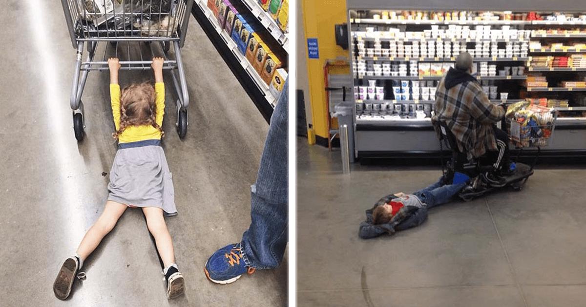 11 Niños que aborrecen salir de compras con sus madres.