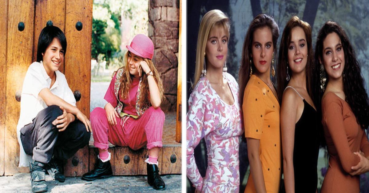 Seguro ya no te acuerdas de estas viejas telenovelas... ¿O sí?