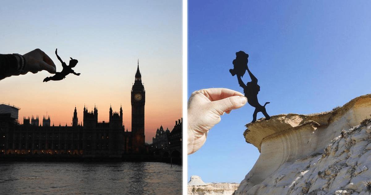 ¡Este fotógrafo añade referencias de películas a paisajes turísticos!