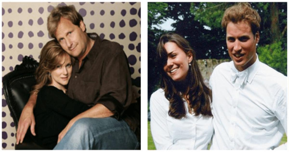 10 Parejas famosas que muestran lo duradero del primer amor.