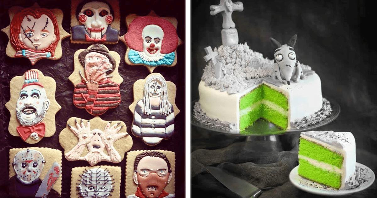 ¡10 Increíbles pasteles y postres para Halloween!