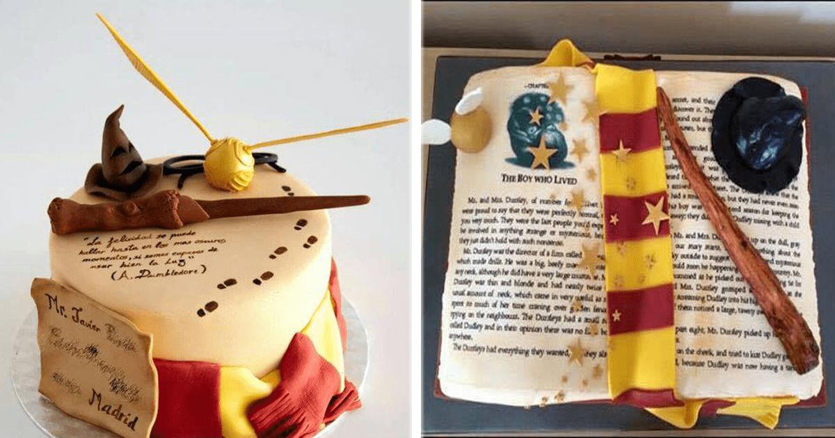 ¡11 Increíbles pasteles inspirados en Harry Potter!