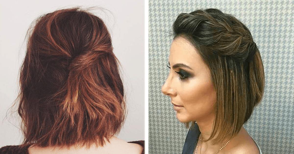 14 Lindos y sencillos peinados para cabello corto La Casa Del Curioso