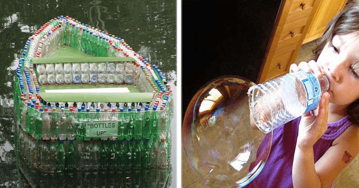 13 Ideas muy útiles y creativas para reciclar botellas de plástico.