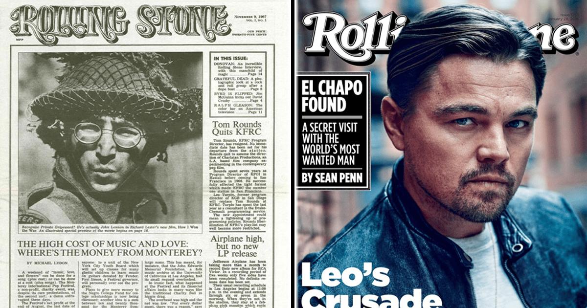 13 Imágenes de la primera portada de las revistas más importantes y cómo lucen ahora.