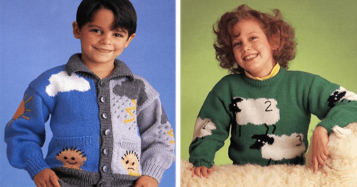 Los 13 suéteres más horribles que vieron la luz en los 80's.
