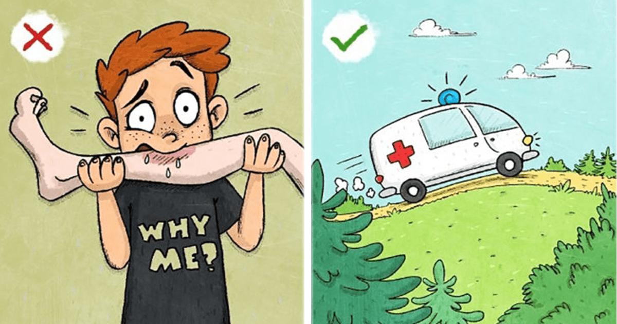 9 Mitos sobre supervivencia que en realidad deberías evitar.