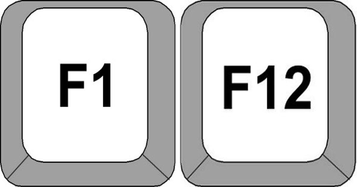 ¿Sabes para qué sirven las teclas 'F' de tu teclado?