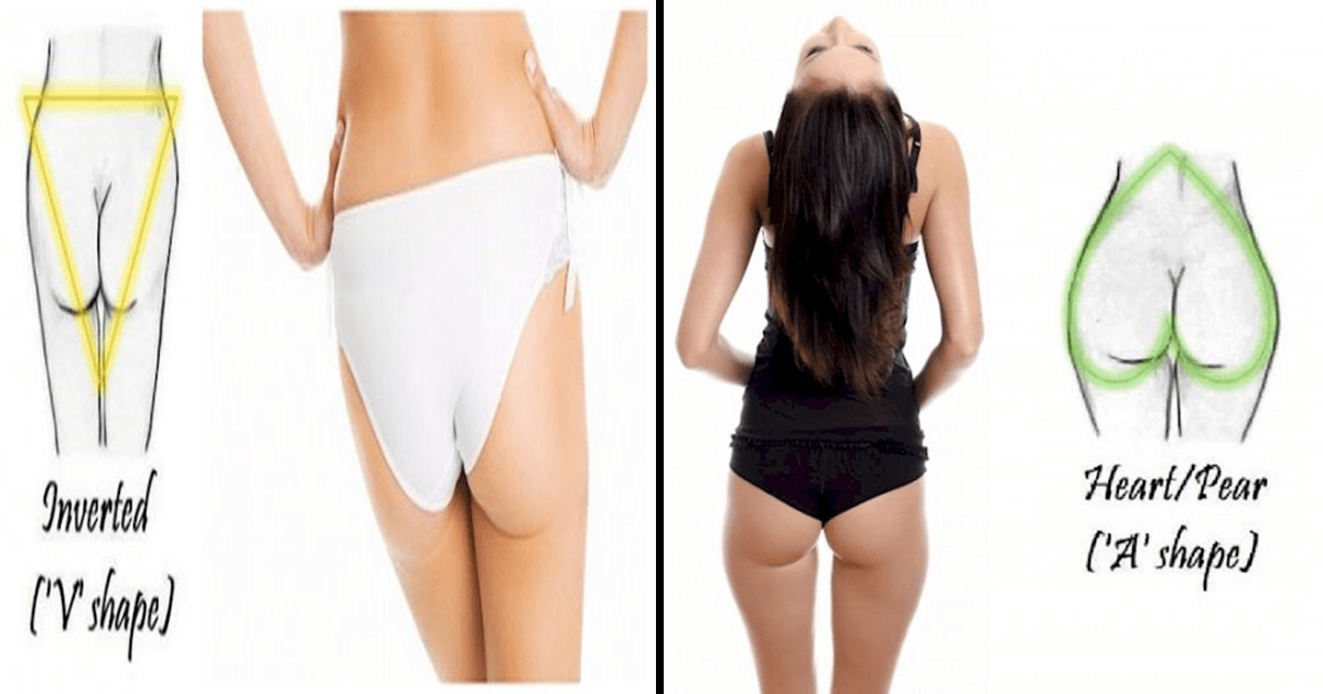 ¿Conoces la forma de tu trasero? Aquí te la decimos.