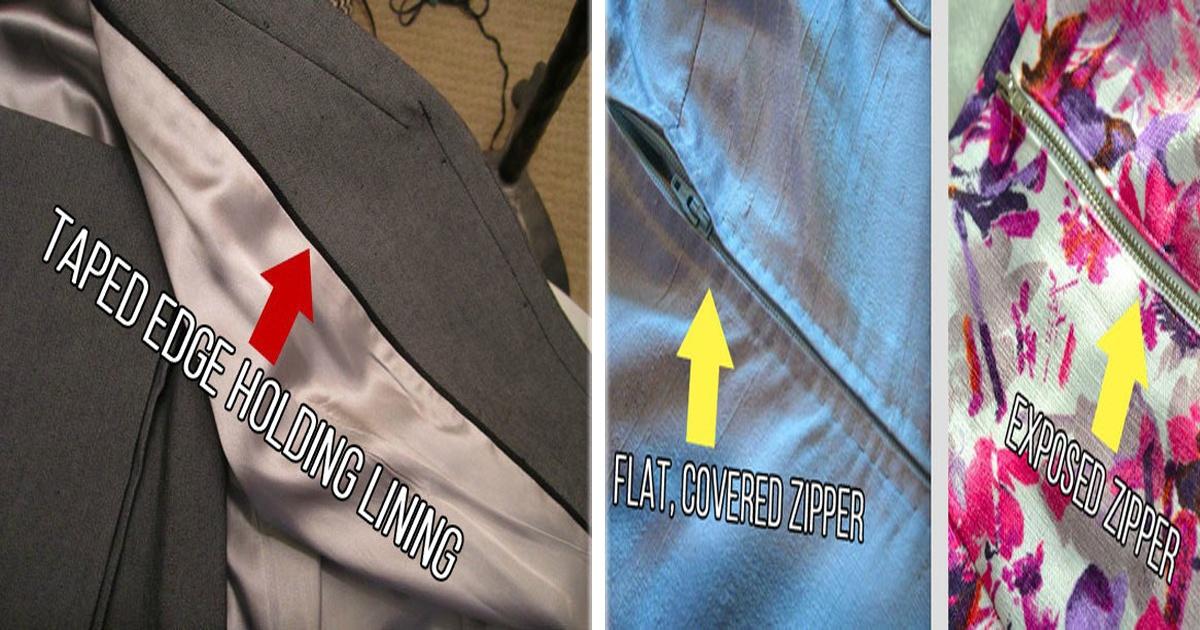 11 Formas de saber si la ropa que compras es de buena calidad.
