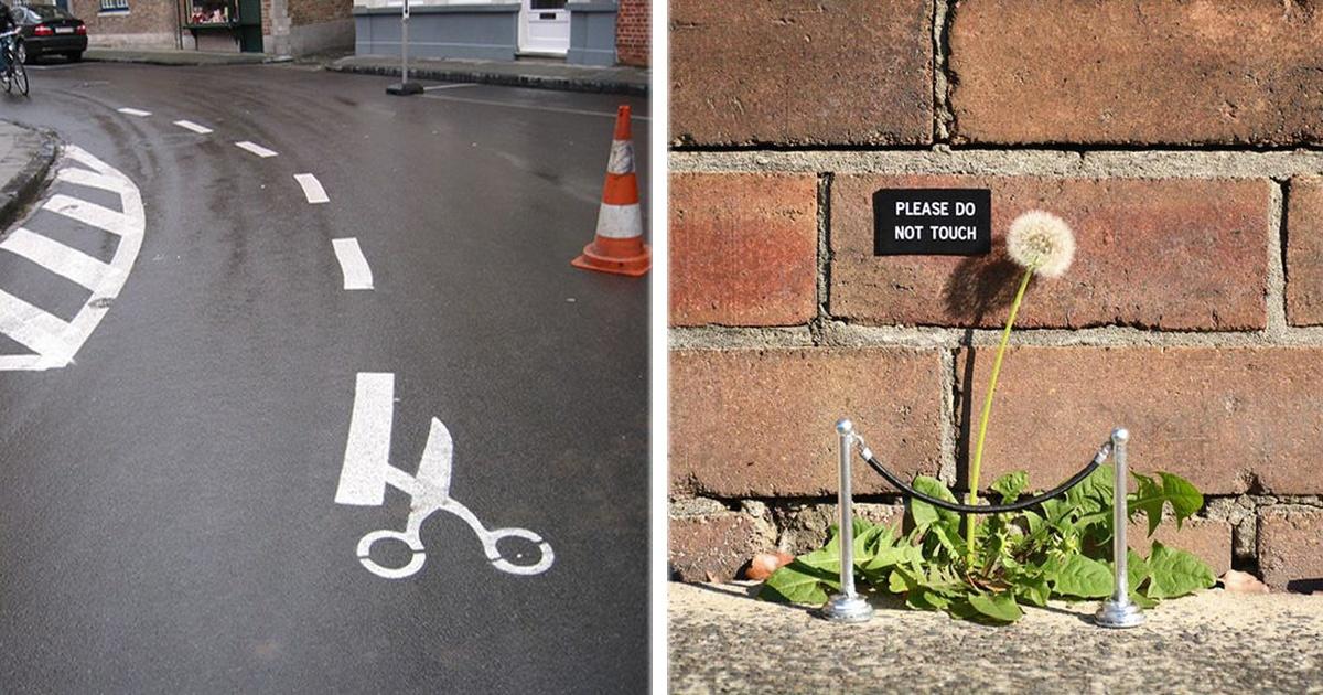 ¡17 Imágenes que prueban que el vandalismo también puede ser arte!