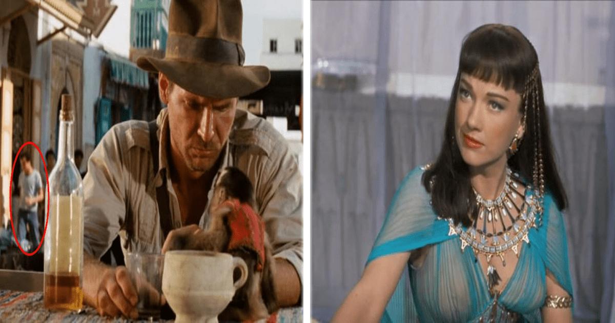 11 Errores de vestuario en películas famosas que no habías notado antes.
