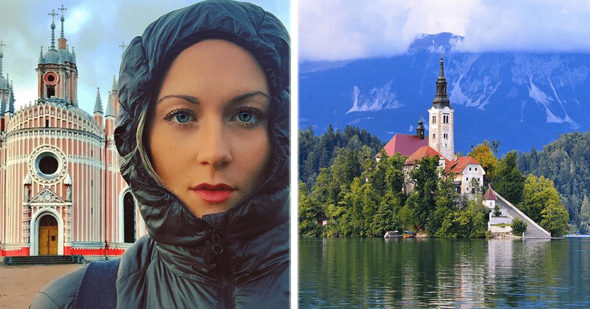 Esta chica de 27 podría ser la primera mujer en visitar todos los países del mundo.