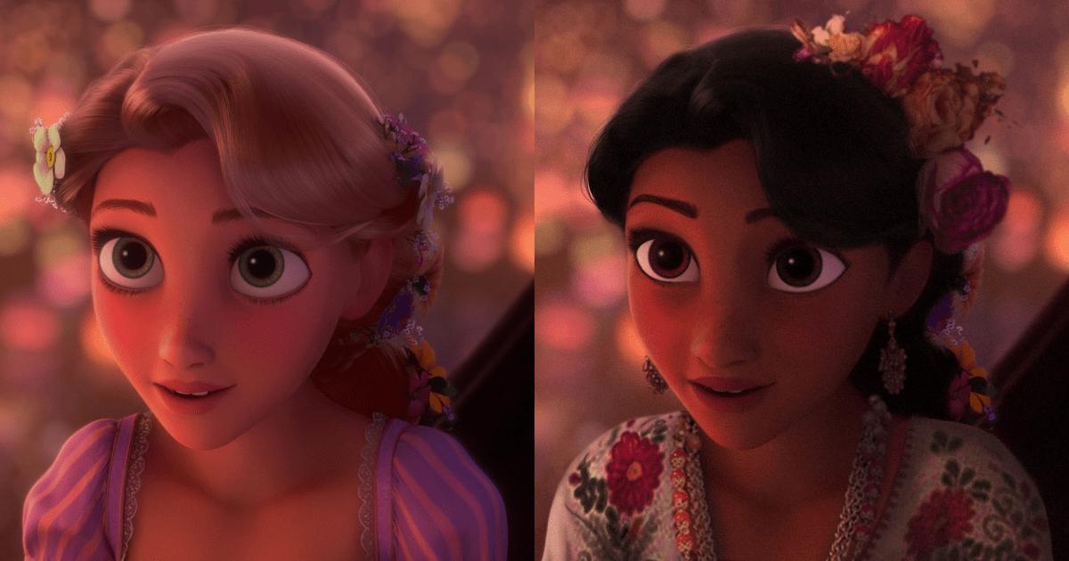 Princesas de Disney reinventadas en diferentes etnias