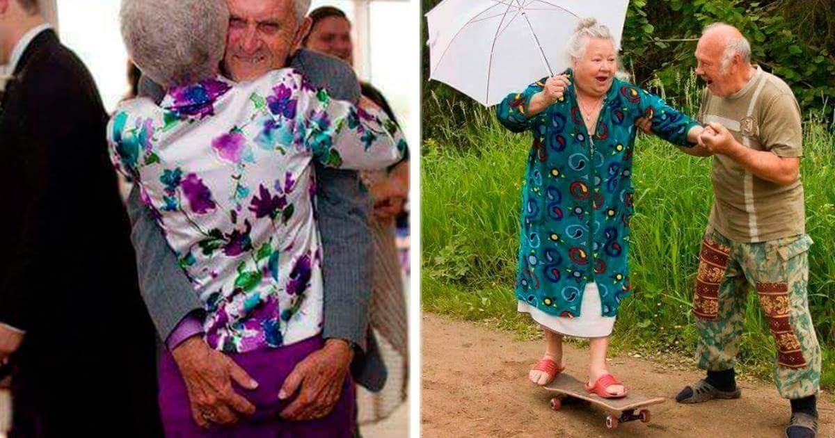 15 Parejas de abuelitos que saben que el amor hay que disfrutarlo siempre
