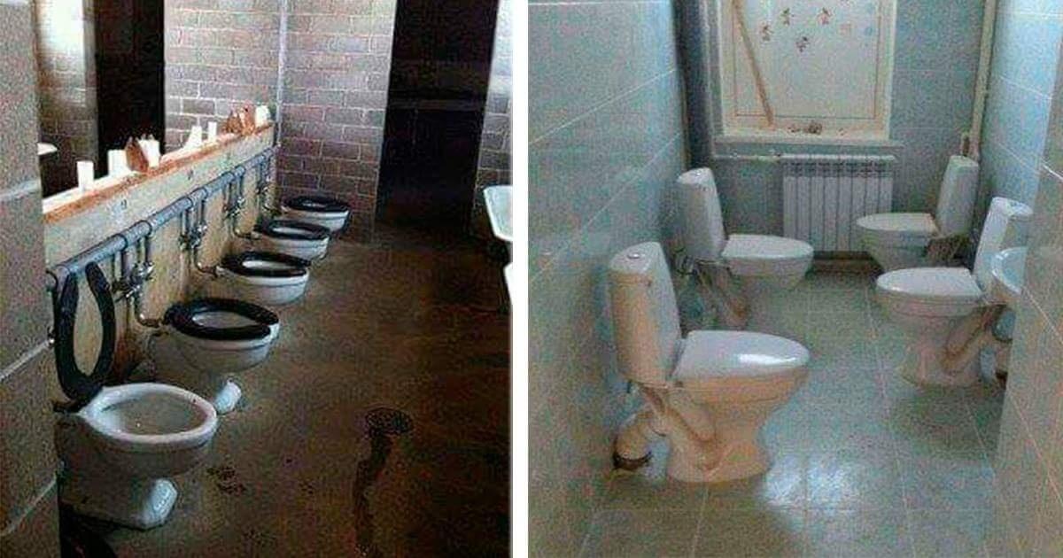 ¡13 Baños públicos que no quisieras tener la necesidad de utilizar!