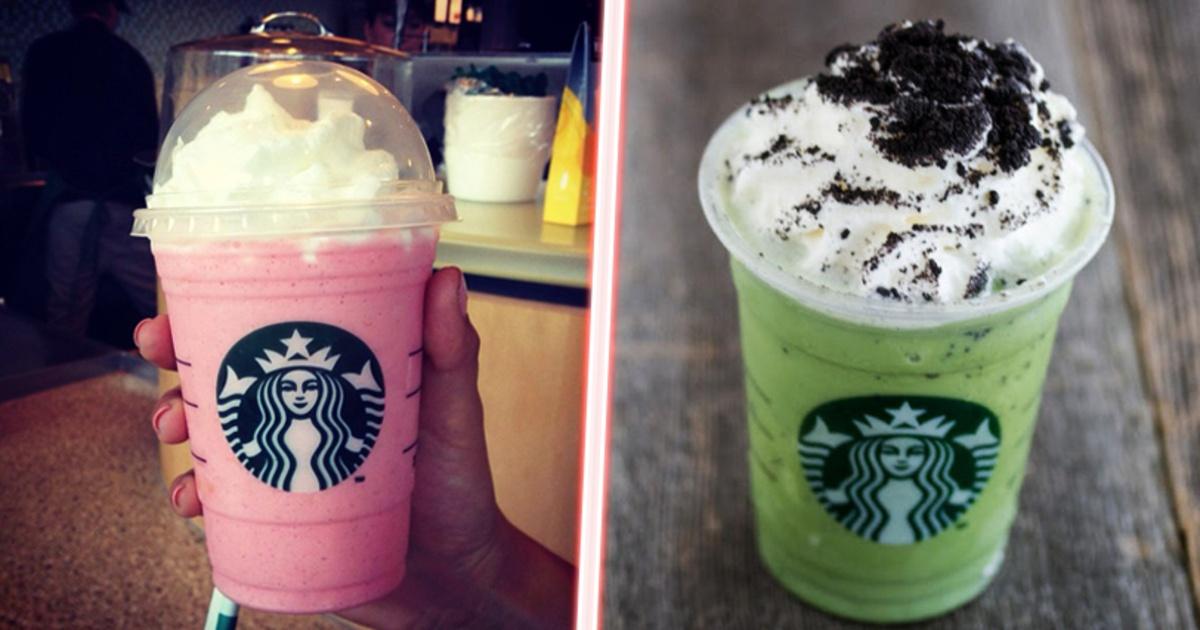 ¡12 Bebidas secretas que puedes ordenar en Starbucks!