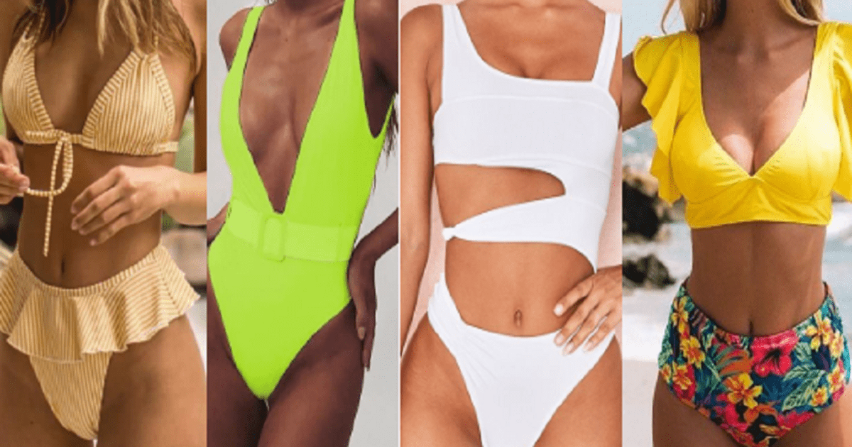 Estos son los trajes de baño que serán tendencia en 2019