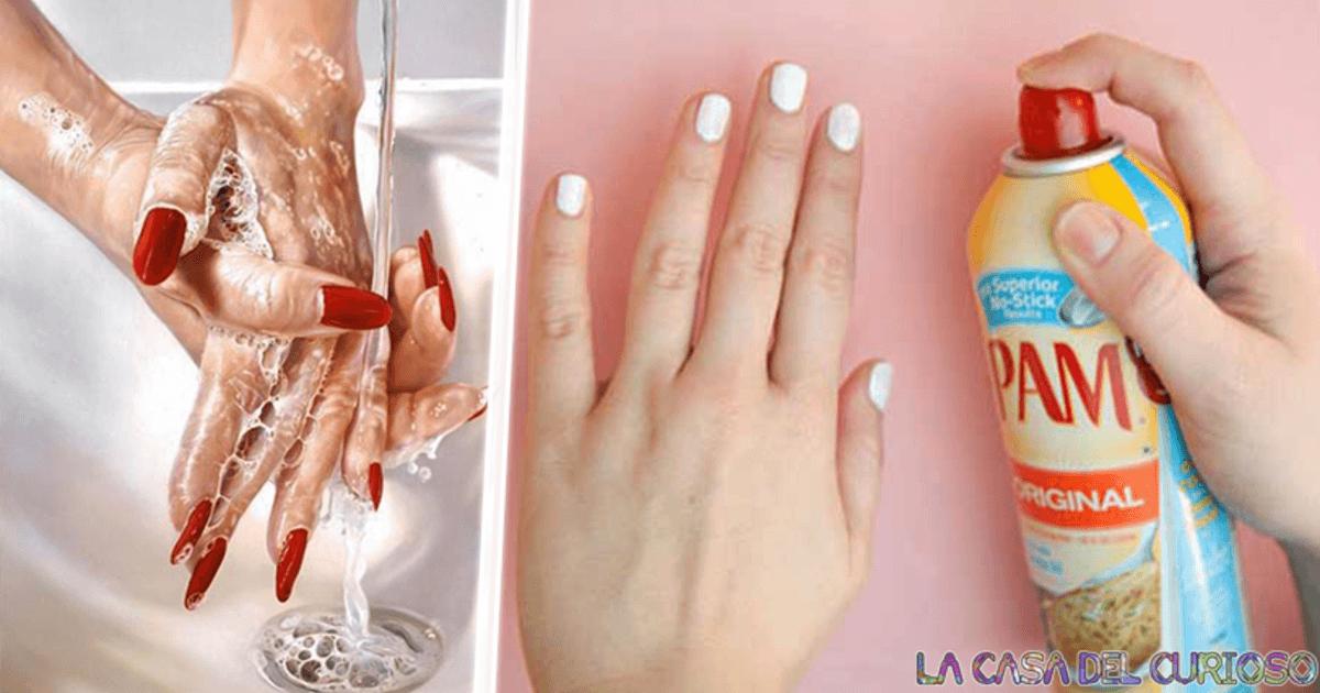 Tips sencillos para secar tu esmalte de uñas en segundos
