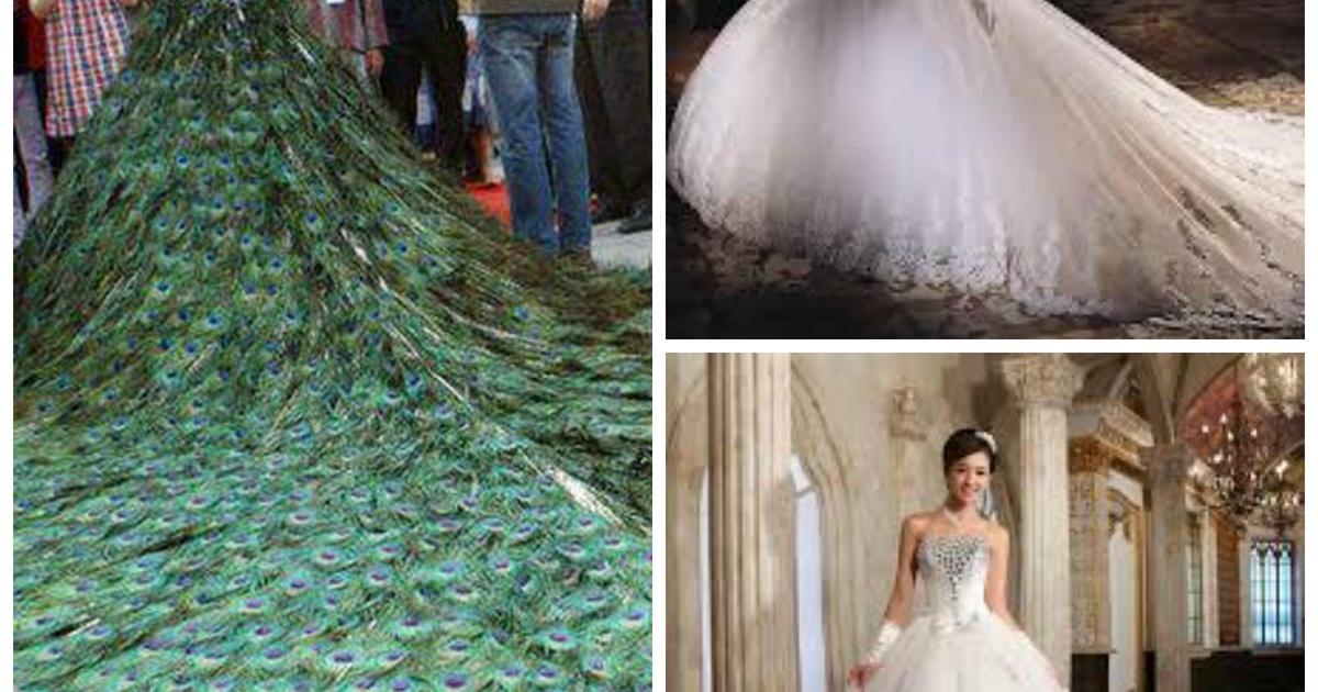 los vestidos de novia mas caros de la historia ¡el #3 esta hecho de