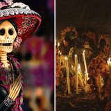 Day of the Dead; a Mexican celebration that is admired by the world