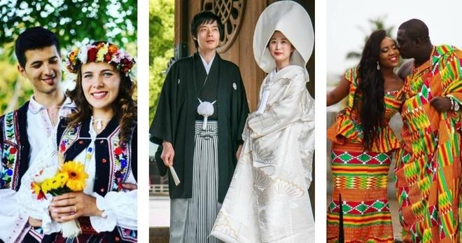 Trajes de boda en 10 diferentes países del mundo | La Casa Del Curioso