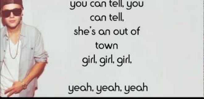 Out of town girl lyrics