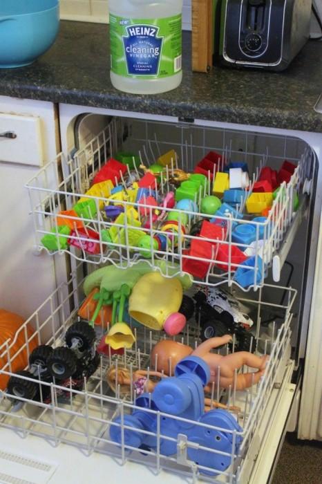 Lava los juguetes de tu pequeño, de una manera practica